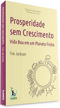 """Capa do livro """"Prosperidade sem Crescimento"""""""