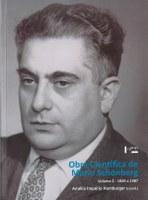 Capa Livro Obra Científica de Mário Schönberg - V2