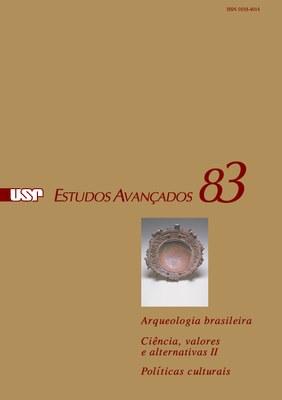 Capa Revista Estudos Avançados V 29 N 83