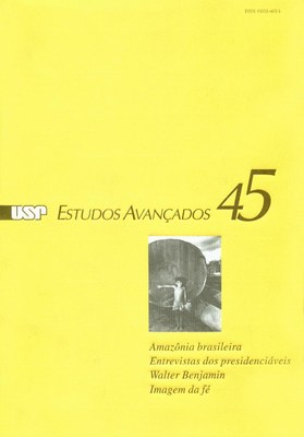 Capa Revista Estudos Avançados v16 n45