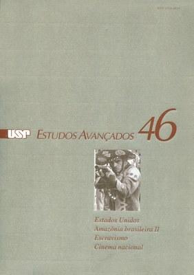 Capa Revista Estudos Avançados v16 n46