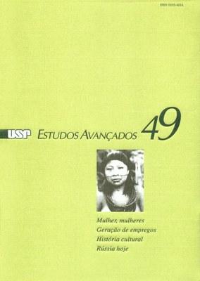 Capa Revista Estudos Avançados v17 n49