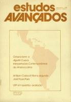 Capa Revista Estudos Avançados v2 n1