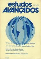 Capa Revista Estudos Avançados v2 n2