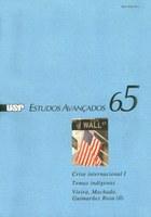 Capa Revista Estudos Avançados v23 n65