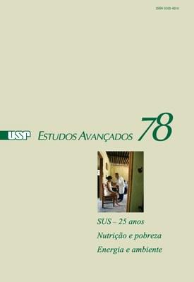 Capa Revista Estudos Avançados v27 n78