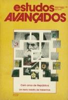 Capa Revista Estudos Avançados v3 n7