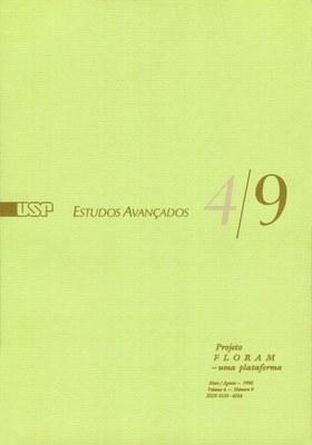 Capa Revista Estudos Avançados v4 n9