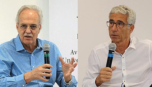 Carlos Nobre e José Eli de Veiga - 10/4/2018