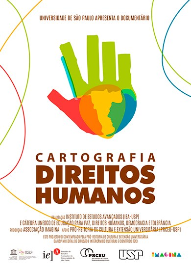 Cartaz Cartografia Direitos Humanos