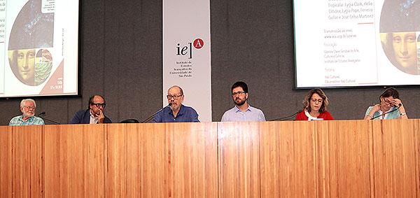 Celso Favaretto, Luiz Camillo Osório, Paulo Herkenhoff, Sérgio Bruno Martins, Tania Rivera e Helena Nader - 18/10/2019
