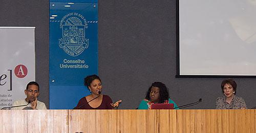 Clébar Ferreira dos Santos, Diana Mendes Machado da Silva, Macaé Evaristo e Marília Cecília Cortez - 28/9/16
