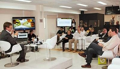 Conferência de Olivier Faron