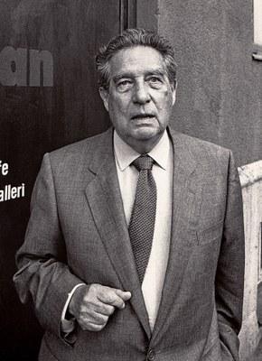 Octavio Paz. Foto: Jonn Leffmann