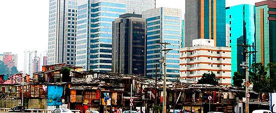 Desigualdade na cidade de São Paulo