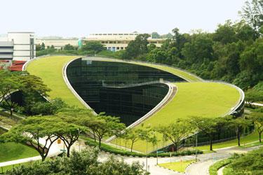 Edifício de artes e design - NTU Singapura