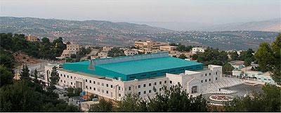 Edifício principal do Sesame, Jordânia