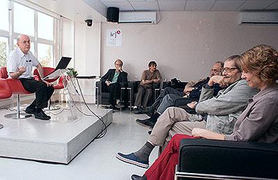 Eliezer Rabinovici  - conferência sobre Sesame