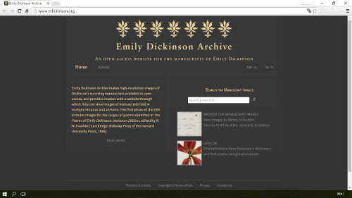 Emily Dickinson Archive