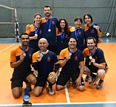 Equipe de voleibol do IEA - 2014