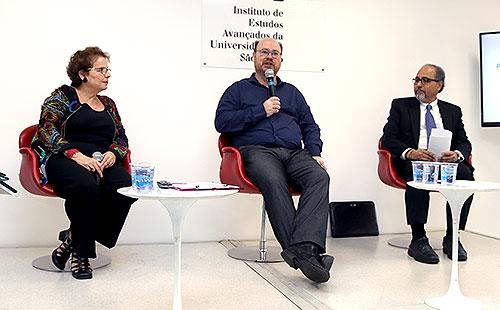 Evelyn Levy, Fernando Luiz Abrucio e Humberto Falcão Martins - 20/9/18
