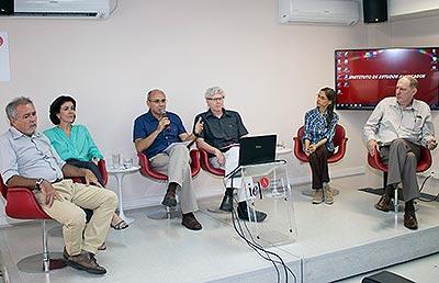 """Evento """"Verão 2013/2014 e Cenários de Estresse Hídrico"""""""
