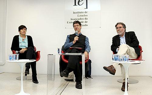 Fernanda De Nigri, Mario Salerno e Carlos Américo Pacheco - 17/9/2018