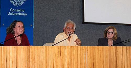 Flávia Schilling, José Sérgio Fonseca de Carvalho e Maria do Pilar Lacerda Almeida e Silva - 27/9/16