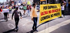 Home 2 - O Aumento da Fome Frente à Fragilidade da Democracia