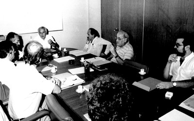 Instalação do Conselho Deliberativo do IEA - 10 de abril de 1987