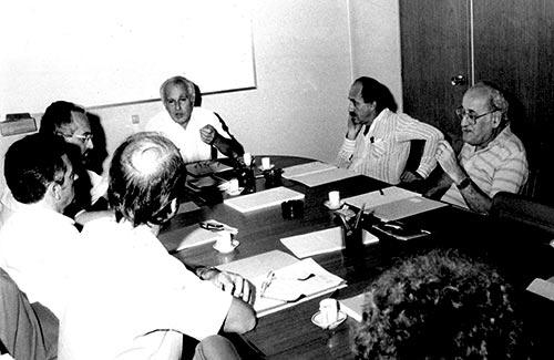 Instalação do primeiro Conselho Deliberativo - 10/4/1987