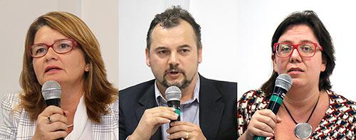 Jarcilene Cortez, Emerson Maccari e Renata Bichir - 22/8/18