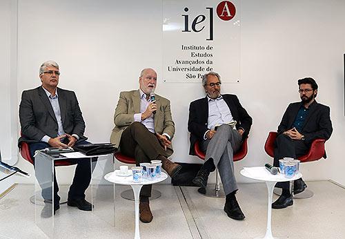 Fernando Estima, Ricardo Young, Jorge Abrahão e César Capacle - 22/8/2018