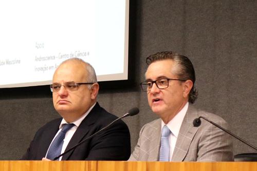 Jorge Hallak e Maurício de Souza Lima