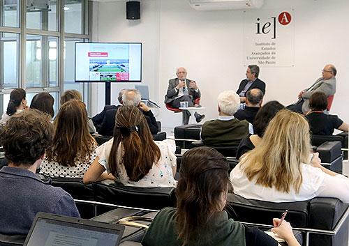 José Goldemberg, Nilson José Machado e Maurício Holanda Maia - 31/8/2018