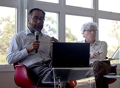 José Luis Lezama e Pedro Jacobi