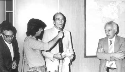 """Lançamento da 1º edição da revista """"Estudos Avançados"""" - 18/12/1987"""