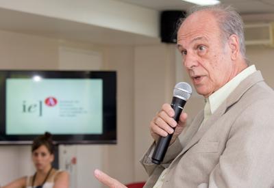 Luiz Bevilacqua no evento Tardes Cariocas: Choque Cultural