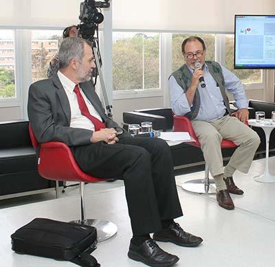 Luiz Nunes de Oliveira e Ciro Teixeira Correia - Debate Processo Eleitoral na USP 1