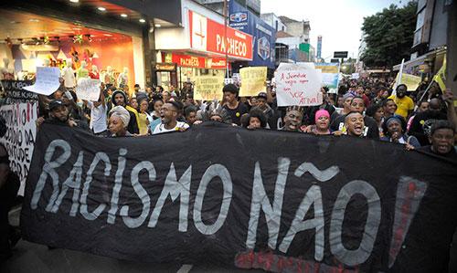 Manifestação antirracista