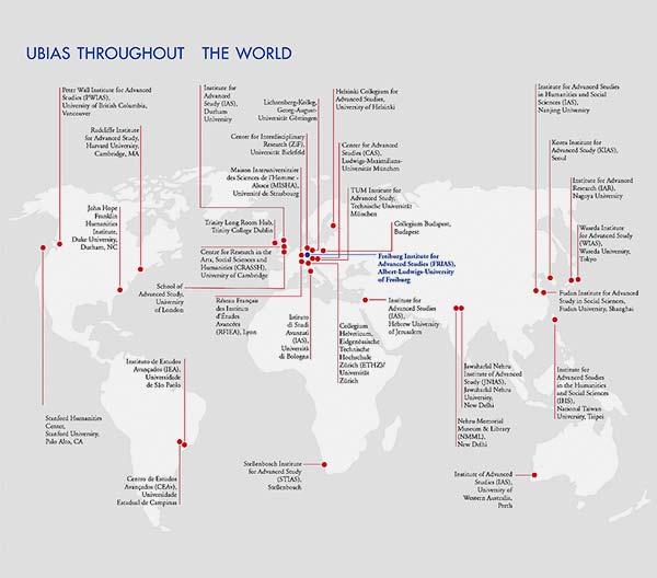 Mapa da Ubias