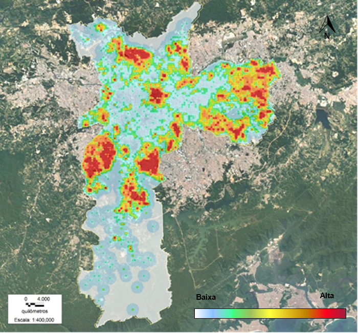 Mapa da violência por Marcelo Nery