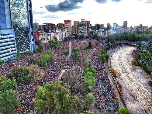 Marcha Mas Grande De Chile 2019