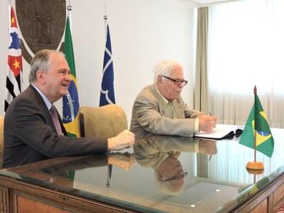 Marco Antônio Zago e Sérgio Paulo Rouanet
