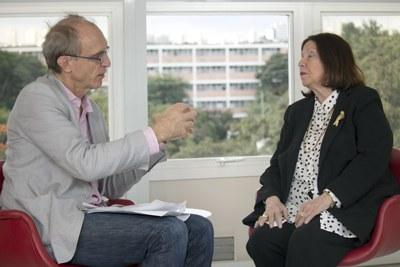 Martin Grosmann Entrevista Nélida Piñon