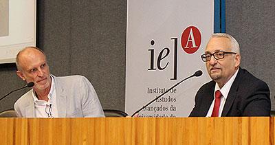 Martin Grossmann e Paulo Saldiva - Cátedra Olavo Setubal - 16/3/2017