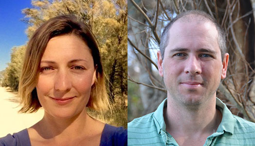 Martine Maron e Jonathan Rodhes - 2018