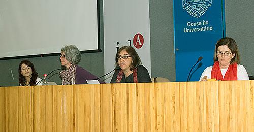 Mayla Rosa Rodrigues, Marília Carvalho, Cláudia Moares e Maria Cecília Carlini Macedo - 28/9/16