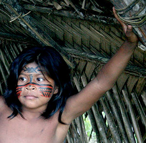 Menino índio