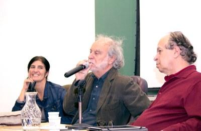 Minom Pinho, Massimo Canevacci e Renato Janine - 22092014